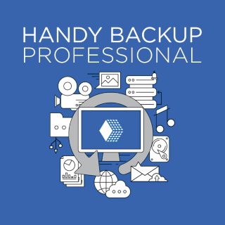 Handy Backup Professional Электронная версия
