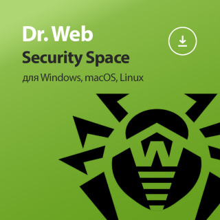 Dr.Web Security Space на 2 года Электронная версия